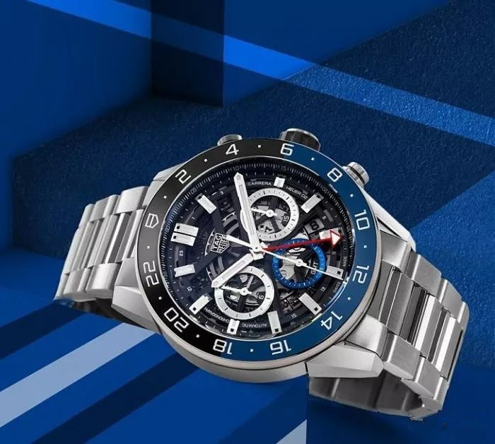 This Tag Heuer fake watch online must be full of complex functions.
