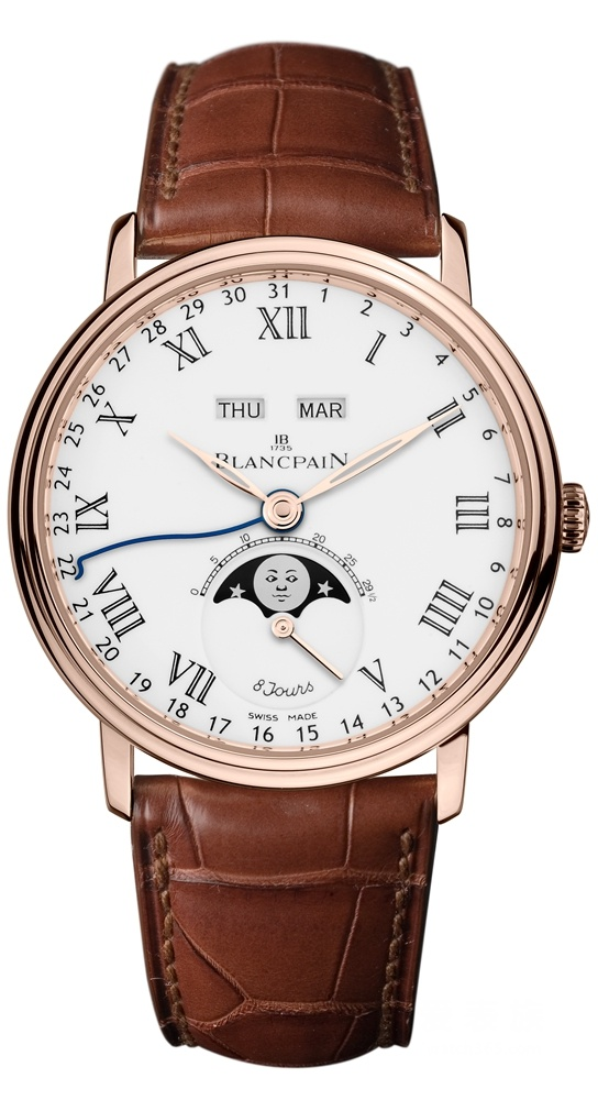 Fake Blancpain watches with white dials are practical.