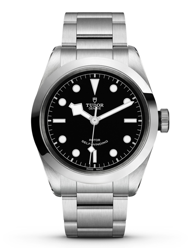 Tudor copy watches with black dials are classical.