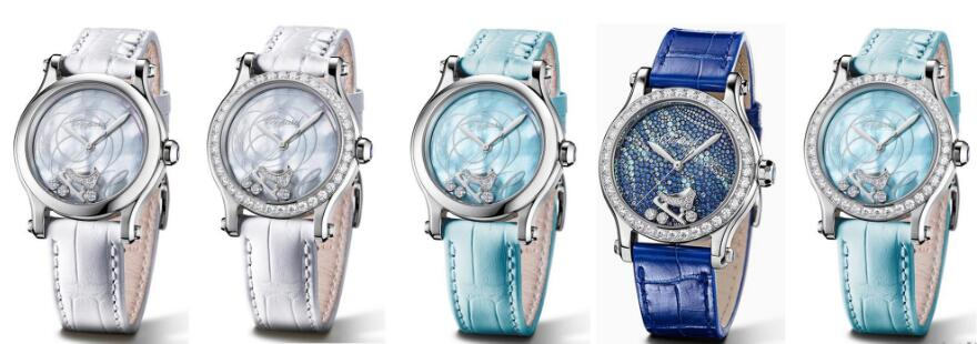 The new Chopard Happy Sport replica watches are elegant and fluent.