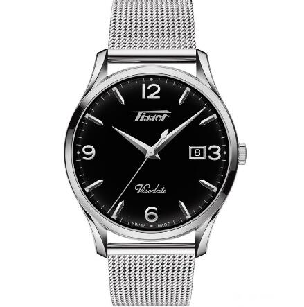 The simple Tissot is also suitable for formal occasion.