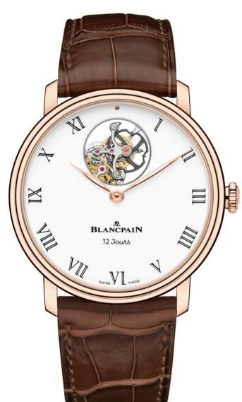 The tourbillon of Blancpain has always been regarded as the most beautiful tourbillon in the world.