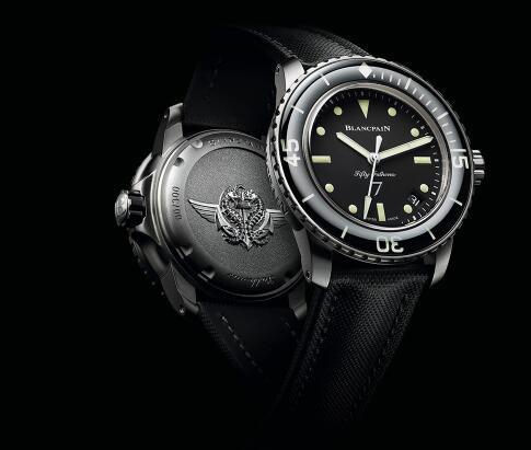 The timepiece commemorates relationship between the original model and French frogmen commando.