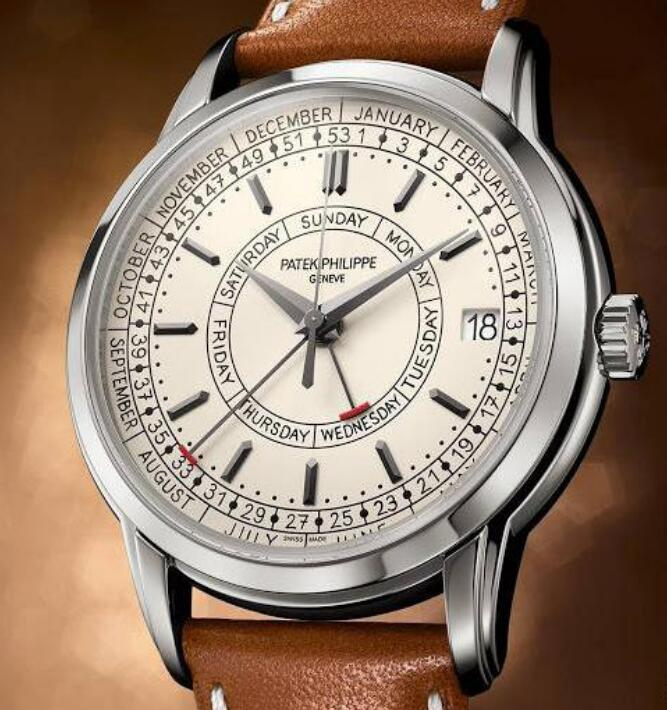 Patek Philippe is with high performance and elegant appearance.